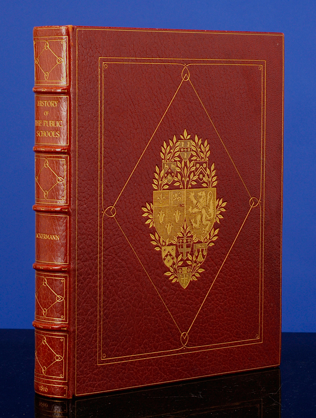 History of the Colleges of Winchester, Eton, and Westminster, The. Rudolph ACKERMANN, William Combe, Sangorski, Sutcliffe.