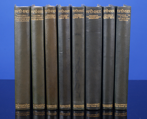 Works of Edmund Spenser, The. SHAKESPEARE HEAD PRESS, Edmund Spenser, Hilda Quick, Joscelyne Gaskin.