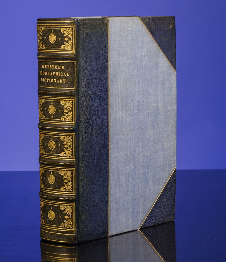 Webster's Biographical Dictionary. DICTIONARY, WEBSTER.