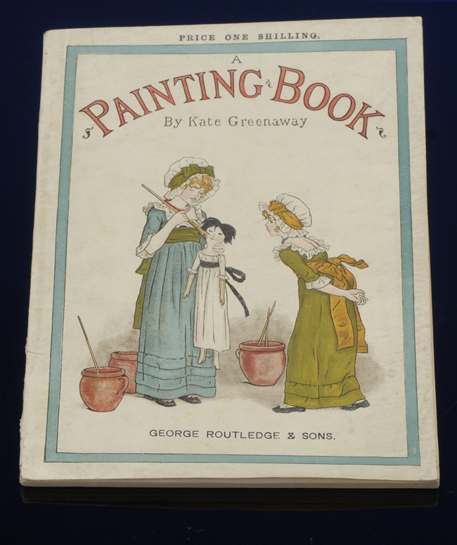 Painting Book, A. Kate GREENAWAY.