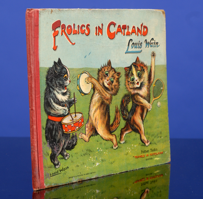 Frolics in Catland. Louis WAIN, Norman GALE, text.