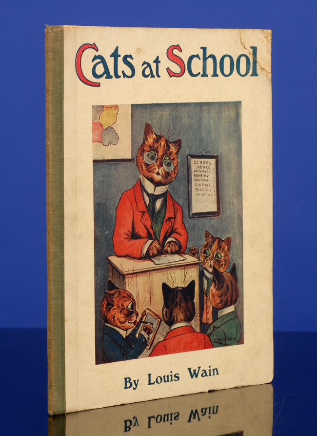 Cats at School. Louis WAIN, illustrator, S. C. WOODHOUSE.