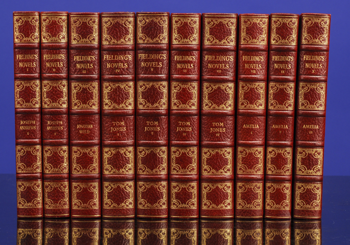 Novels of Henry Fielding, The. Henry FIELDING, SHAKESPEARE HEAD PRESS.