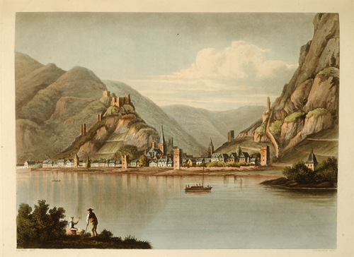 Picturesque Tour along the Rhine, from Mentz to Cologne…, A. J. J. GERNING, Johann Isaac von.