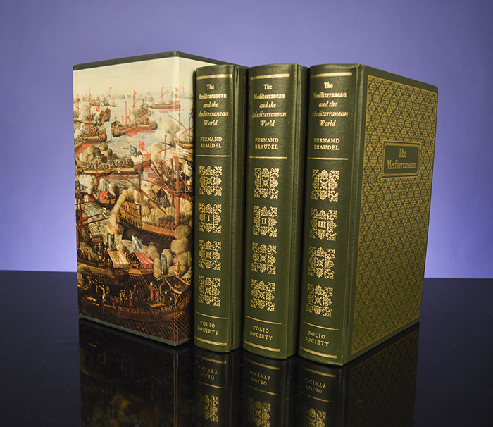 Mediterranean and the Mediterranean World in the Age of Philip II, The. FOLIO SOCIETY, Fernand BRAUDEL.