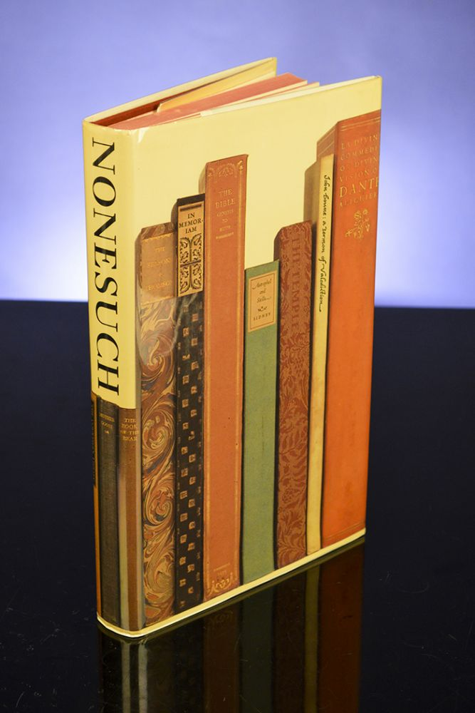 History of the Nonesuch Press, The. NONESUCH PRESS, John DREYFUS.