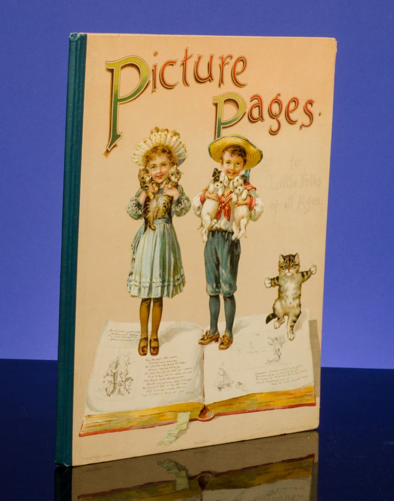Picture Pages For Little Folks of All Ages. Louis WAIN, Clifton BINGHAM, Fred E. WEATHERLY.