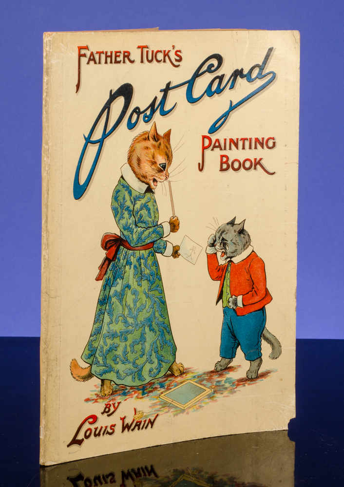 Father Tuck's Post Card Painting Book. Louis WAIN.
