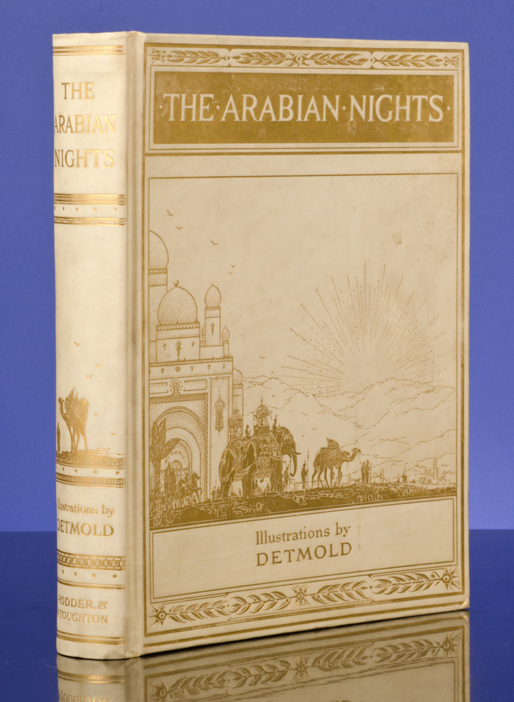 Arabian Nights, The. Edward J. DETMOLD, illustrator.
