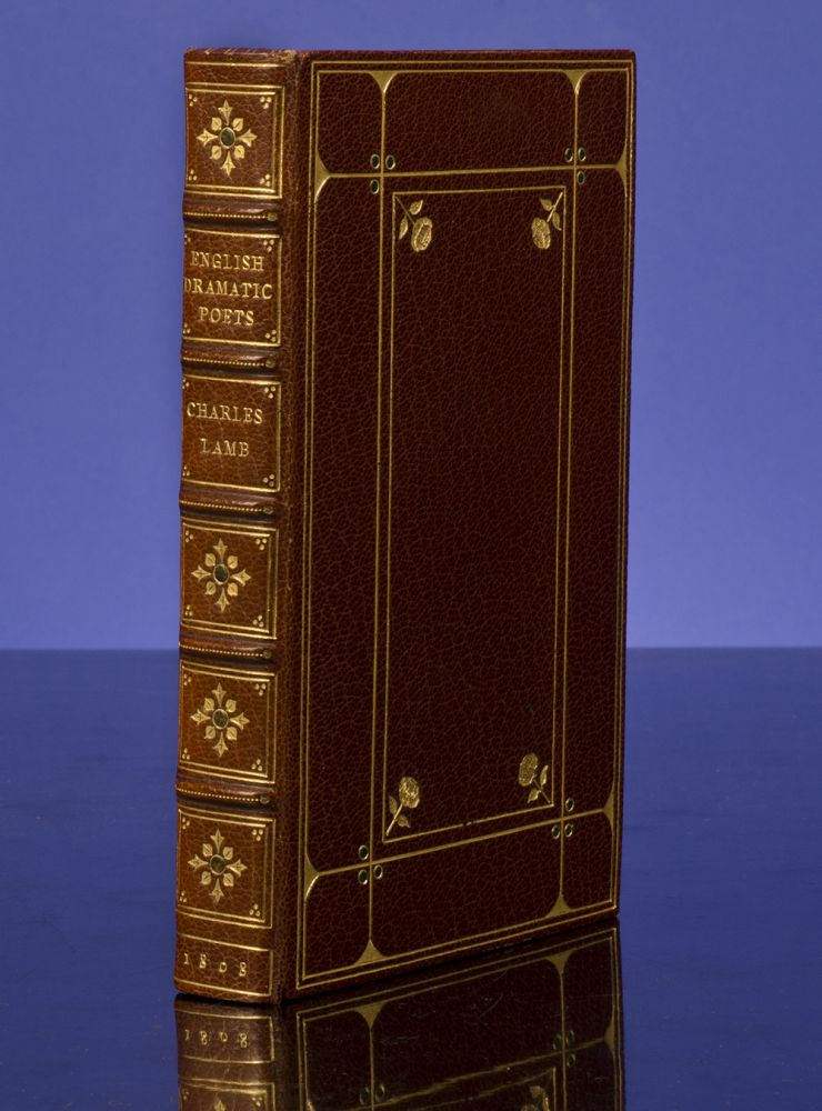 Specimens of English Dramatic Poets. ROOT, binders SON, Charles LAMB.