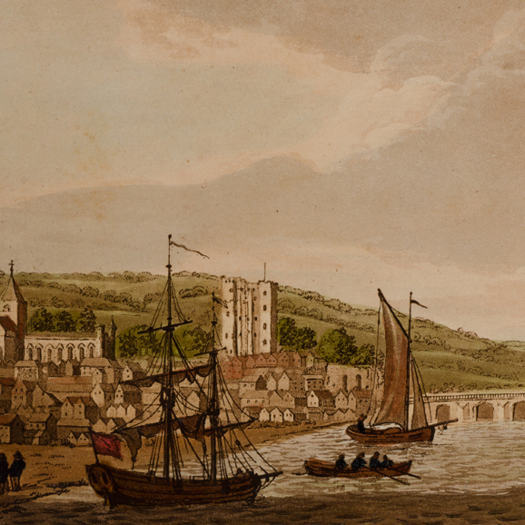 Picturesque Views on the River Medway, from the Nore to the Vicinity of its Source in Sussex:. Samuel IRELAND.
