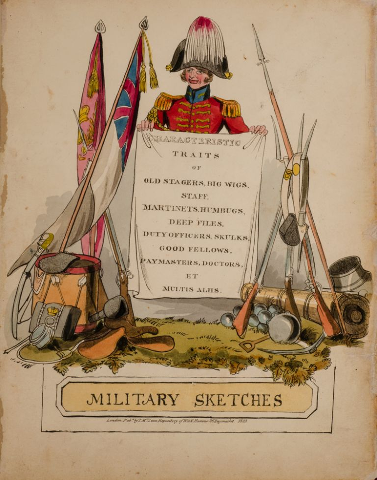 Military Sketches. Henry ALKEN.