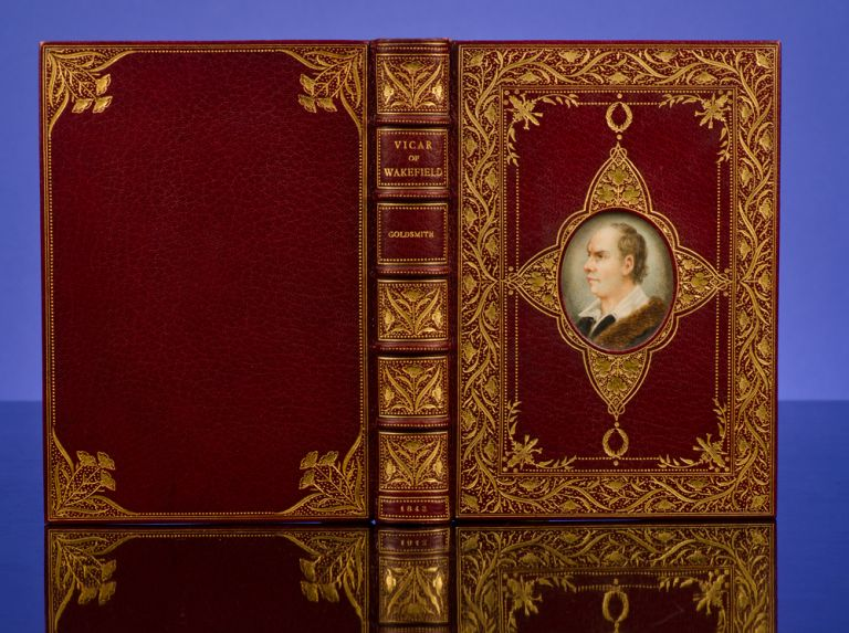 Vicar of Wakefield, The. COSWAY-STYLE BINDING, Oliver GOLDSMITH, William MULREADY, illustrator, RIVIÈRE, SON.