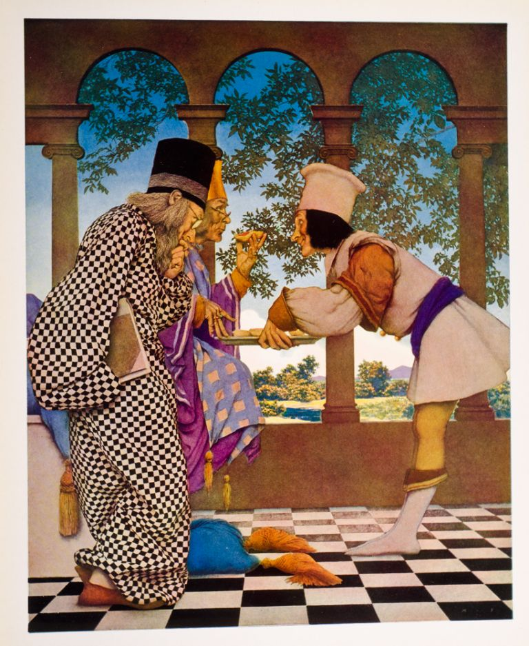 Knave of Hearts, The. Maxfield PARRISH, illustrator, Louise SAUNDERS.