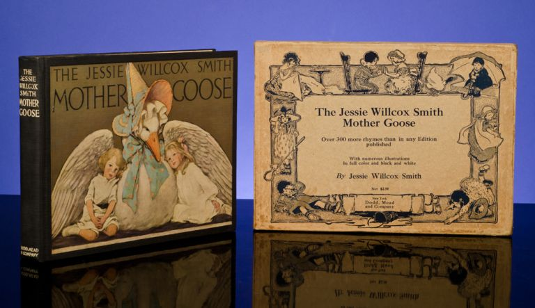 Jessie Willcox Smith Mother Goose, The. Jessie Willcox SMITH, illustrator, Katherine Gridley BUDDY.