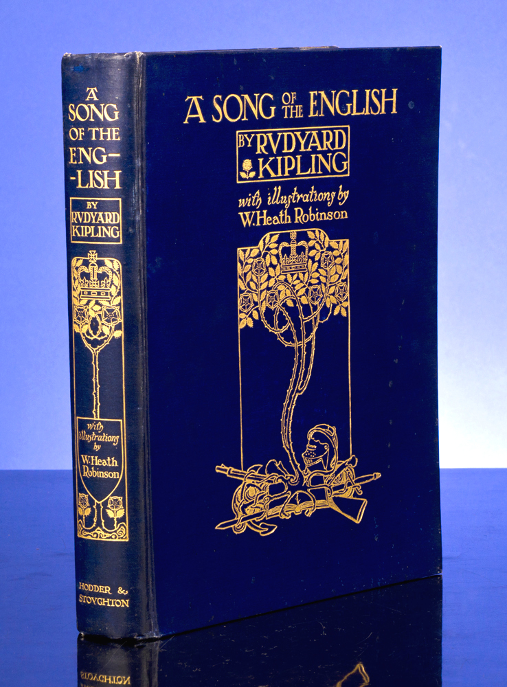 Song of the English, A. W. Heath ROBINSON, illustrator, Rudyard KIPLING.