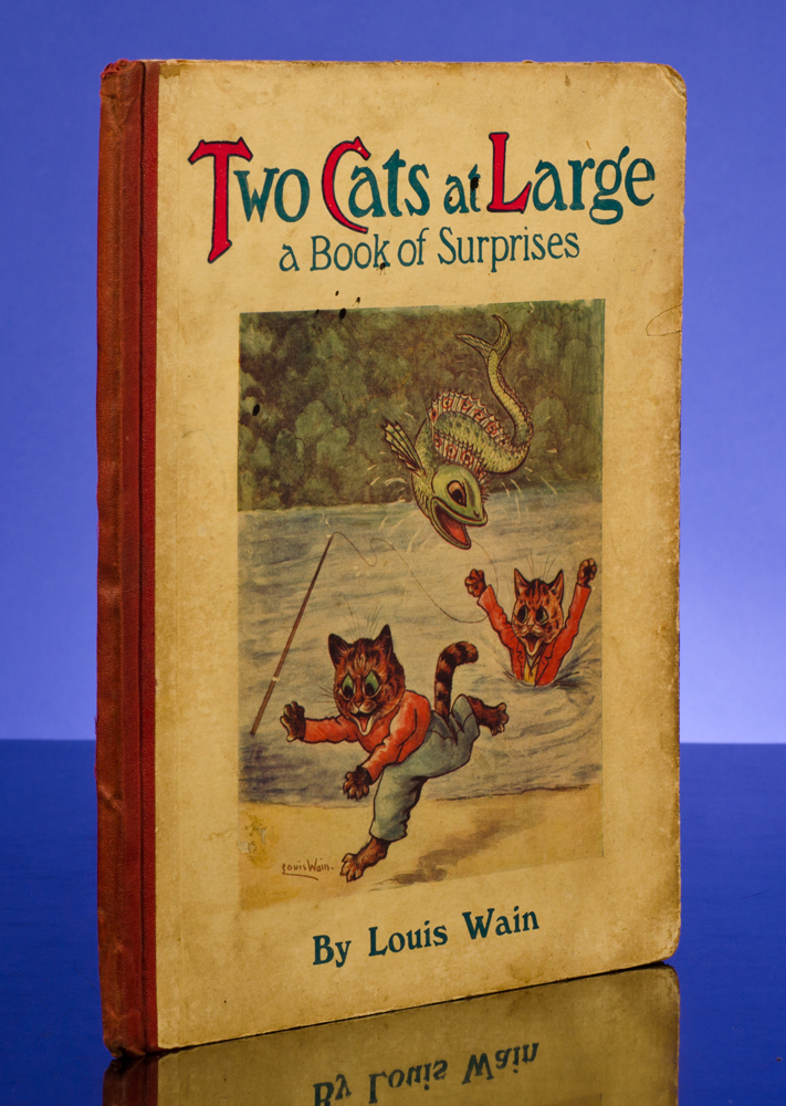 Two Cats At Large. Louis WAIN, illustrator, S. C. WOODHOUSE.
