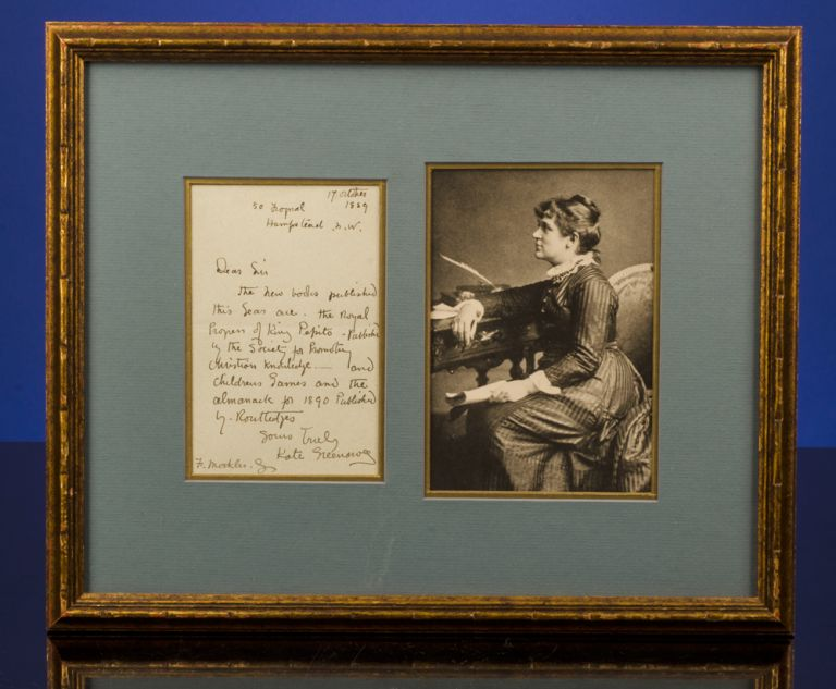 [Autograph Letter Signed]. Kate GREENAWAY.