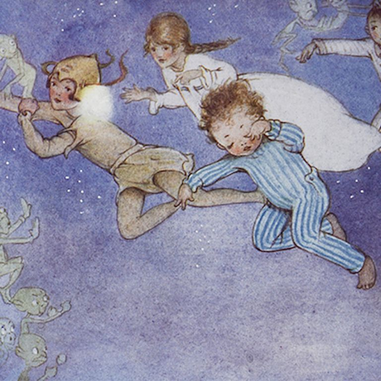 Peter Pan and Wendy. Mabel Lucie ATTWELL, illustrator, J. M. BARRIE.