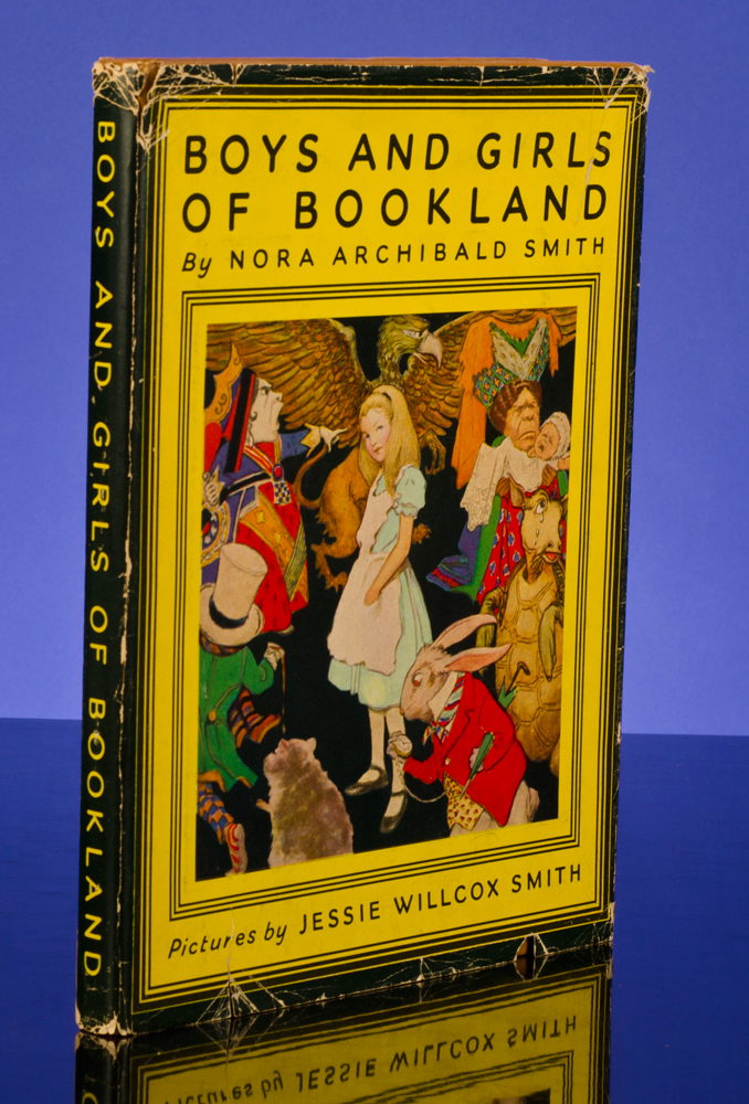Boys and Girls of Bookland. Jessie Willcox SMITH, illustrator, Nora Archibald SMITH.