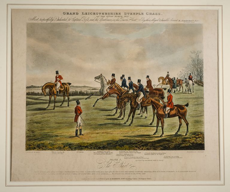 Grand Leicestershire Steeple Chase. Henry ALKEN.