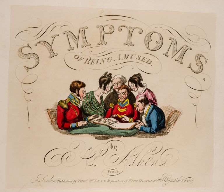 Symptoms of Being Amused. Henry ALKEN.