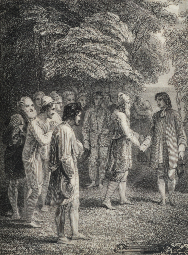 an analysis of robinson crusoe by daniel defoe Robinson crusoe is a novel written by daniel defoe the first edition dates to 1719 and is considered as the first english novel due to this, it is one of.