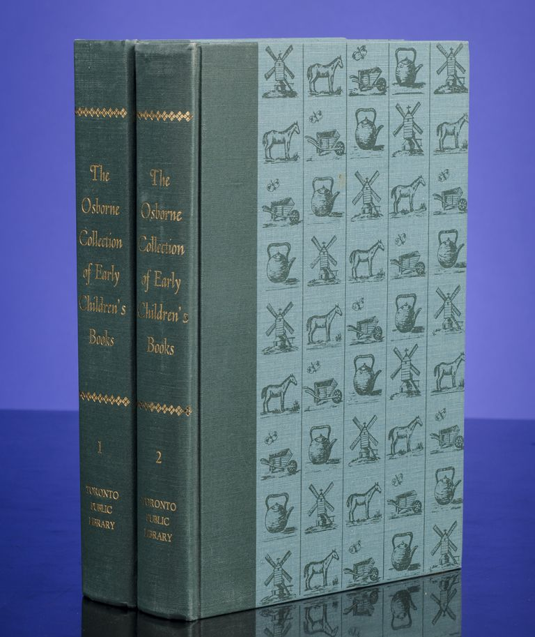 Osborne Collection of Early Children's Books 1476-1910, The. Judith ST JOHN.