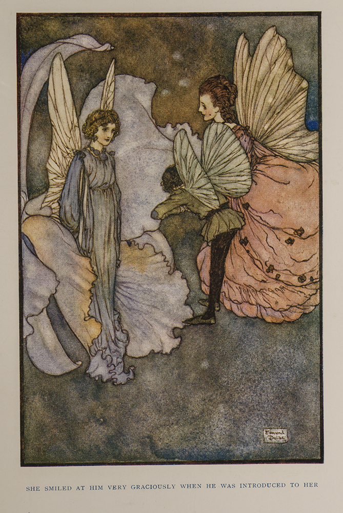 Fairies I Have Met. Edmund DULAC, illustrator, Mrs. Rodolph STAWELL.