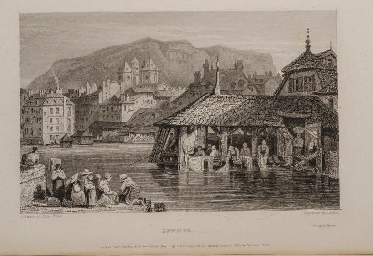 Tourist in Switzerland and Italy, The. Thomas ROSCOE, Samuel PROUT, F. WESTLEY, binder.