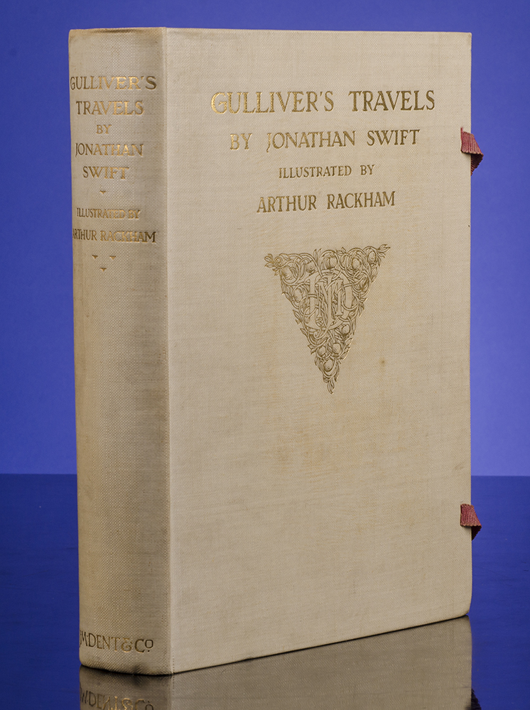 Gulliver's Travels Into Several Remote Nations of the World. Arthur RACKHAM, illustrator, Jonathan SWIFT.