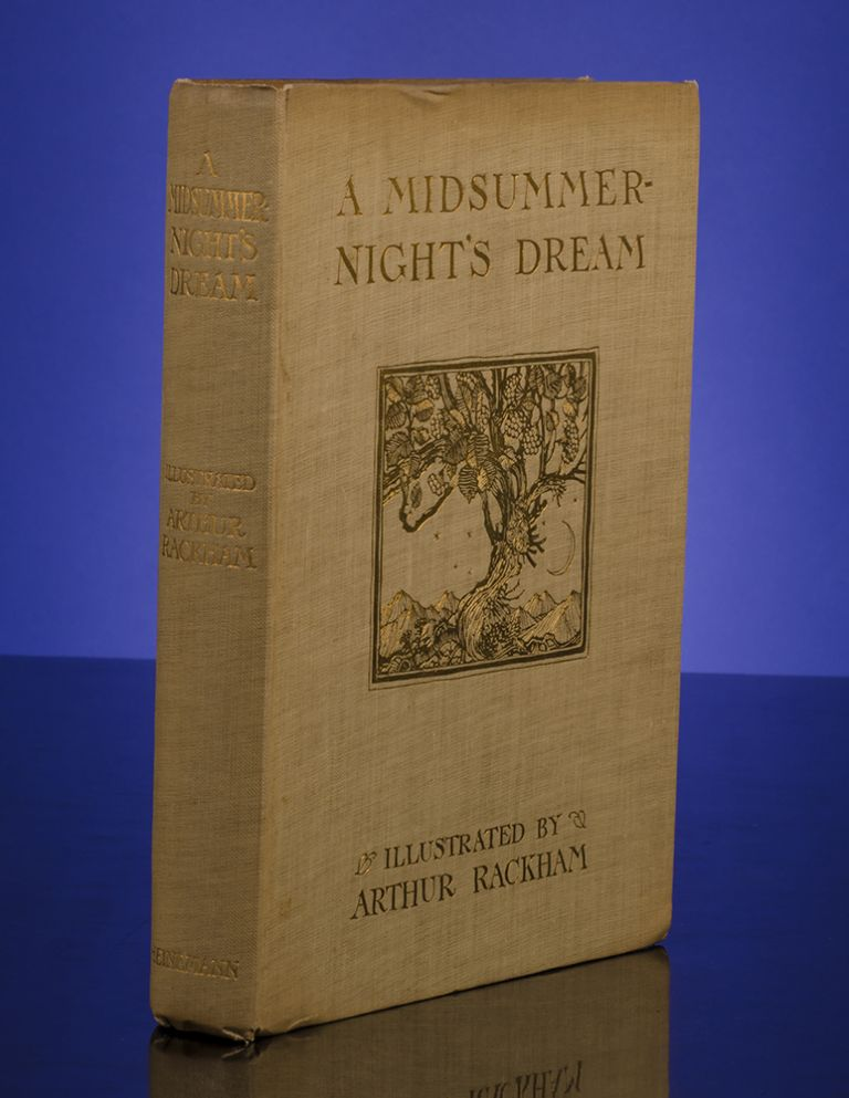 Midsummer-Night's Dream, A. Arthur RACKHAM, William SHAKESPEARE.