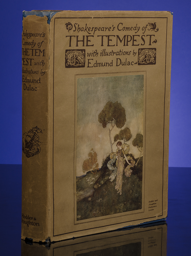 Shakespeare's Comedy of The Tempest. Edmund DULAC, illustrator, William SHAKESPEARE.