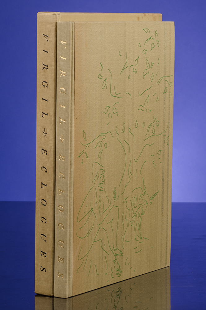 The Eclogues. VIRGIL, LIMITED EDITIONS CLUB, VERTÈS, C. S. CALVERLEY, Publius Virgilius Maro.