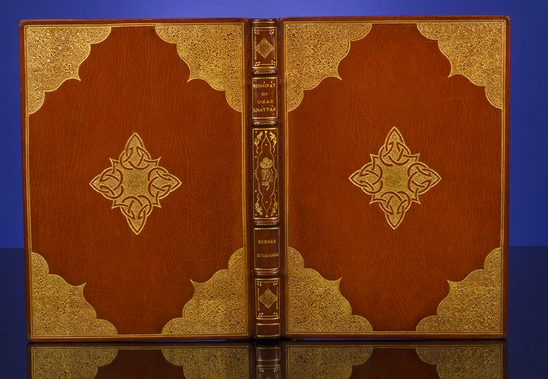 Rubaiyat of Omar Khayyam. Willy POGANY, Edward FITZGERALD, binder MAURIN.