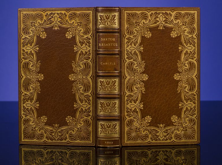 Sartor Resartus: The Life and Opinions of Herr Teufelsdröckh. Thomas CARLYLE, RIVIÈRE, binders SON.