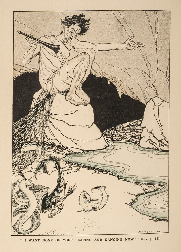 Land of Enchantment, The. Arthur RACKHAM, illustrator, A. E. BONSER.