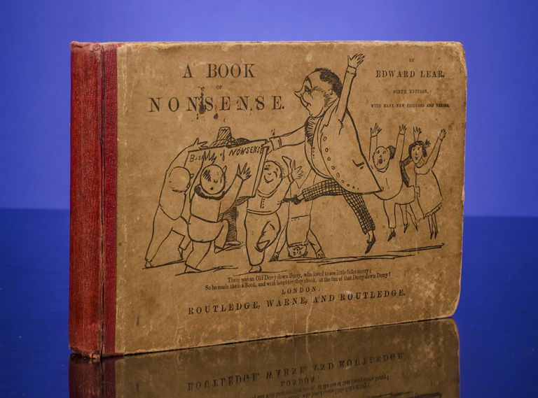 Book of Nonsense, A. Edward LEAR.