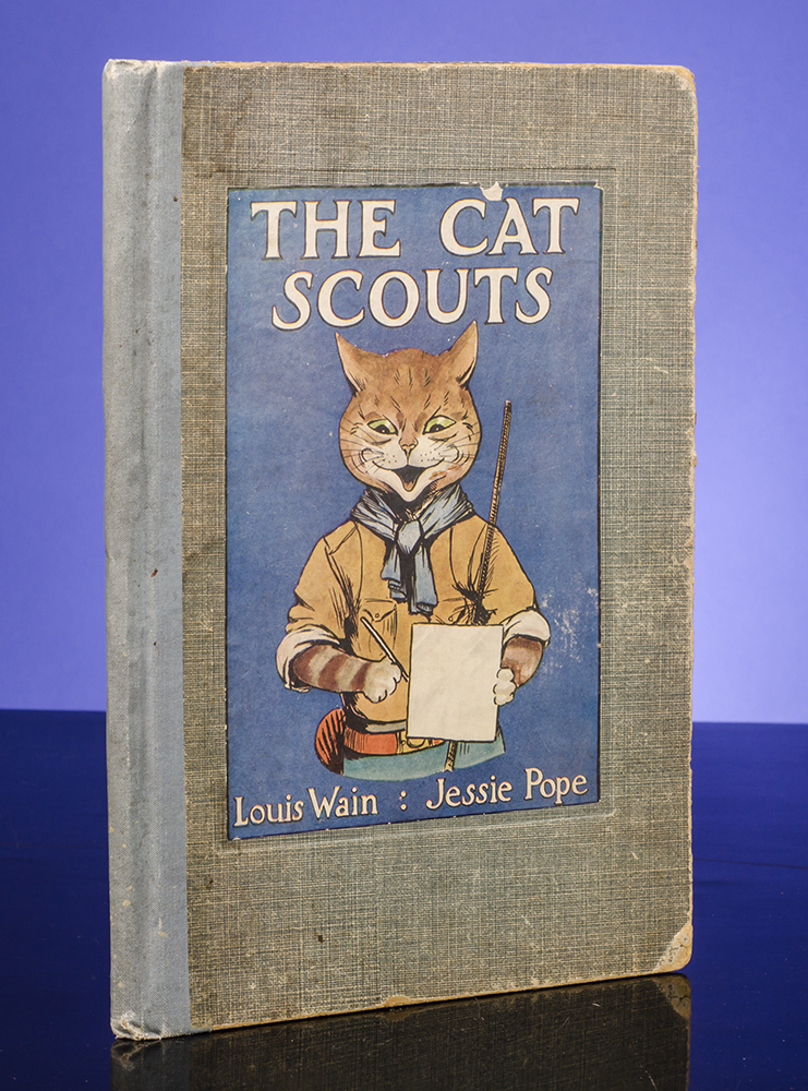 Cat Scouts, The. Louis WAIN, illustrator, Jessie POPE.