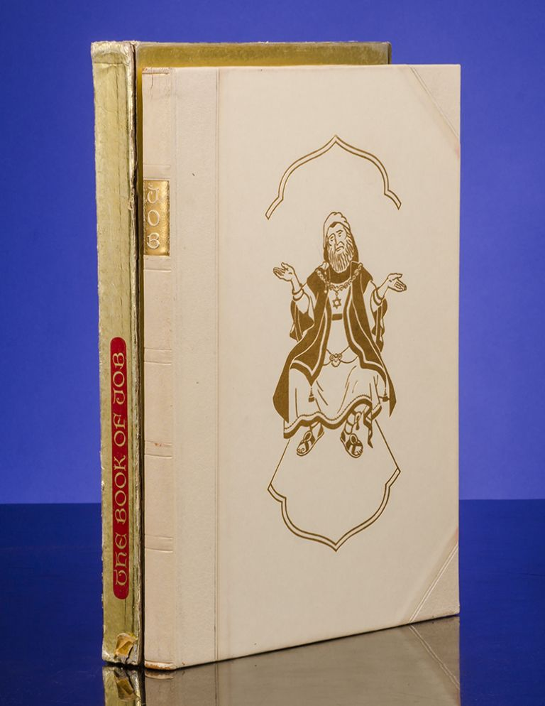 Book of Job, The. LIMITED EDITIONS CLUB, Arthur SZYK, BIBLE IN ENGLISH.