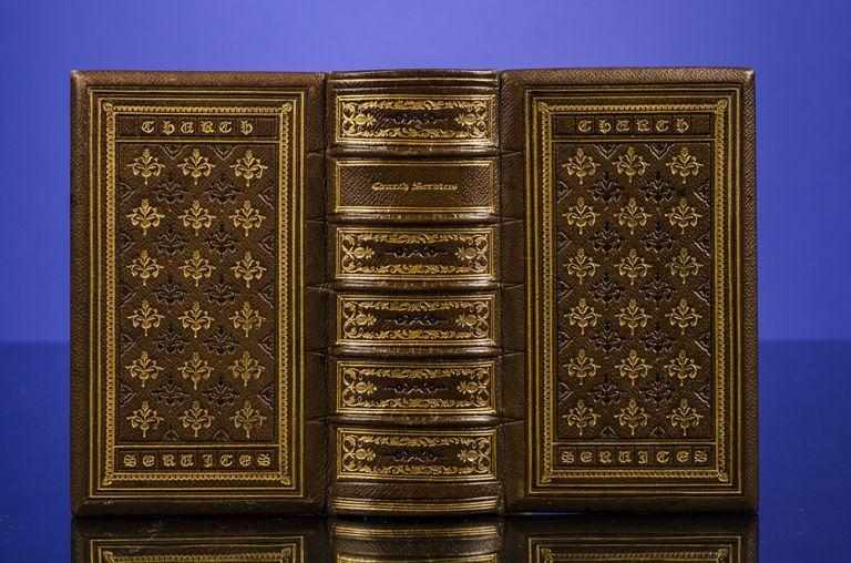The Book of Common Prayer. BIBLE IN ENGLISH, GAUFFERED BINDING, BOOK OF COMMON PRAYER, PSALMS OF DAVID.