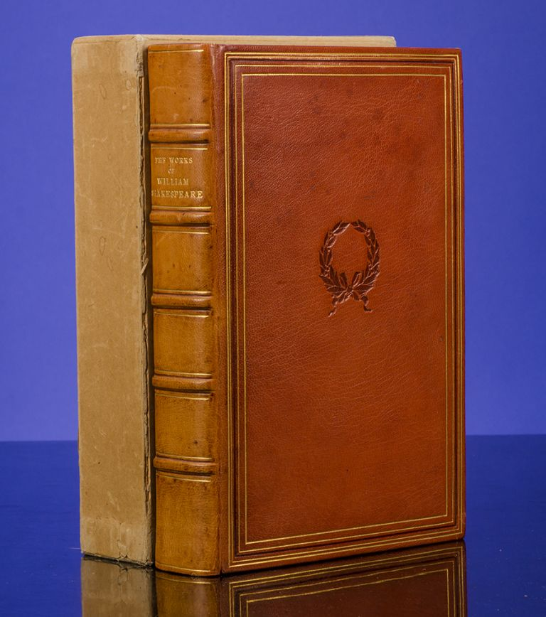 Works of William Shakespeare, The. William SHAKESPEARE, SHAKESPEARE HEAD PRESS, binders LEIGHTON-STRAKER.