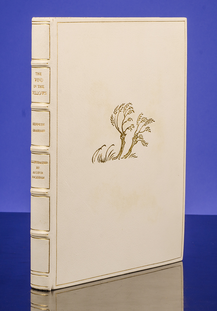 Wind in the Willows, The. Arthur RACKHAM, Kenneth GRAHAME, A. A. MILNE, introduction, SANGORSKI, binder SUTCLIFFE.
