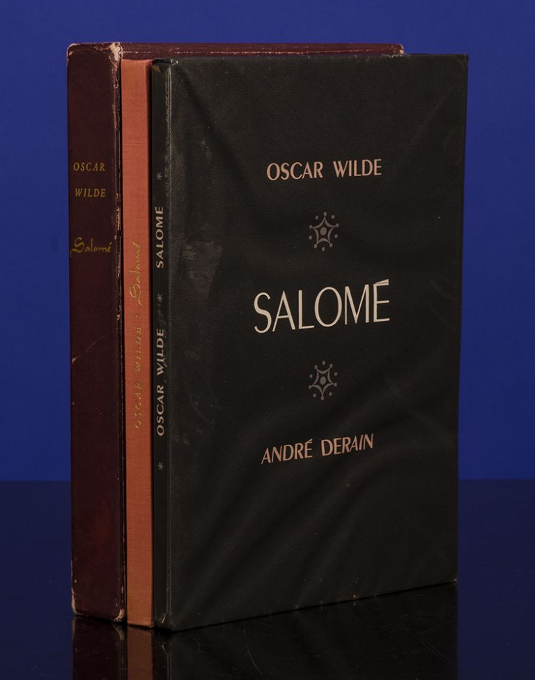 Salomé A Tragedy in One Act [with] Salomé Drame en un Acte. LIMITED EDITIONS CLUB, Oscar WILDE, Aubrey BEARDSLEY, André DERAIN.