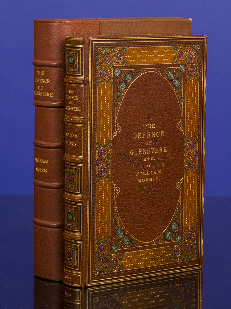 Defence of Guenevere, and Other Poems, The. Henry T. WOOD, binder, William MORRIS.