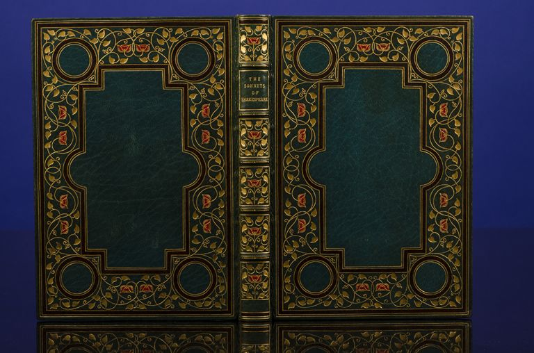 Sonnets of Shakespeare, The. Henry BLACKWELL, binder, William SHAKESPEARE, The ELSTON PRESS.