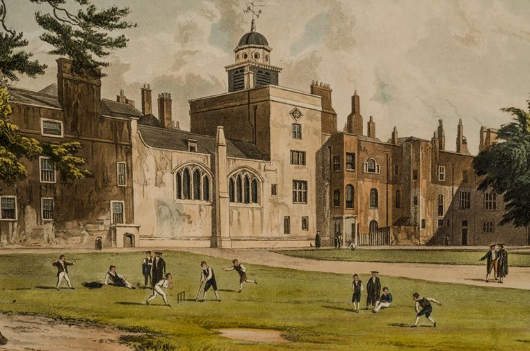 The History of the Colleges of Winchester, Eton, and Westminster;. Rudolph ACKERMANN, publisher, Augustus Charles PUGIN, artist.