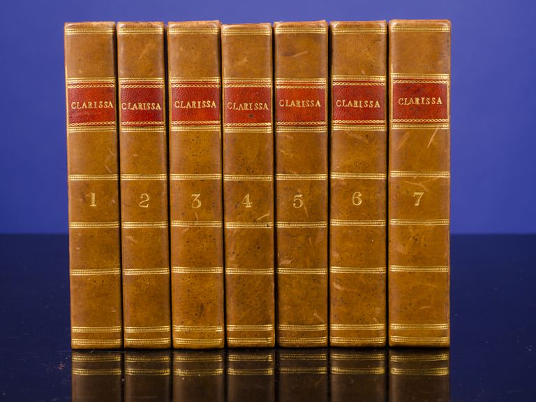 Clarissa. Or, the History of a Young Lady:. Samuel RICHARDSON.
