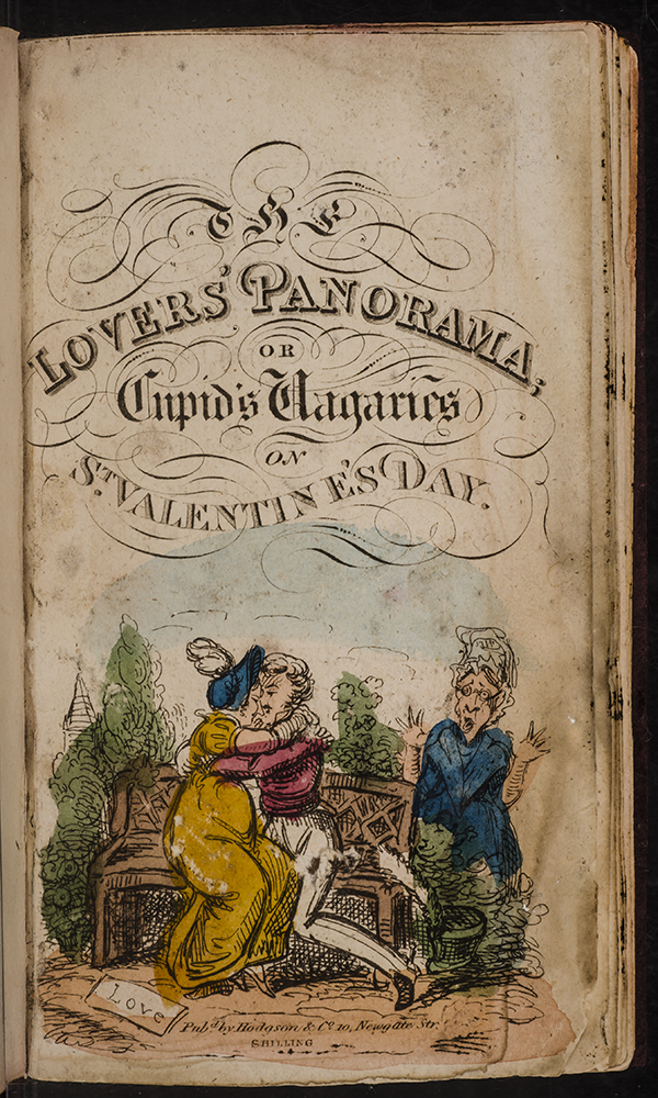 Lovers' Panorama, The. George CRUIKSHANK, Robert CRUIKSHANK.
