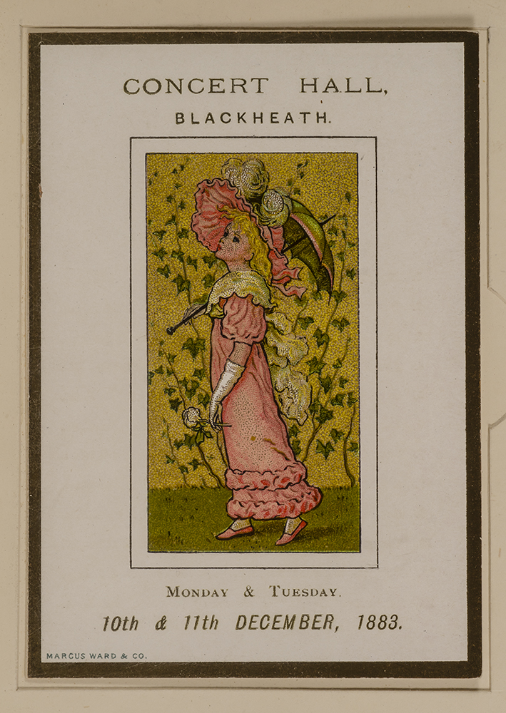 Three Programmes Illustrated by Kate Greenaway [cover title]. Kate GREENAWAY.